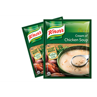 KNORR CREAM OF CHICKEN SOUP AND SOUP BASE  1