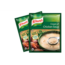 KNORR CREAM OF CHICKEN SOUP AND SOUP BASE