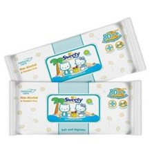 Tissu Basah Sweety Baby Wipes