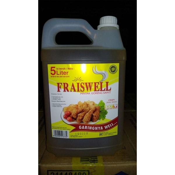 Minyak Goreng Fraiswell Refill 500 ml x 24 pcs/karton