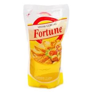 Fortune minyak goreng refill 1 liter x 12 bungkus/dus