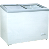 GEA SLIDING FLAT GLASS FREEZER TYPE SD-256 1