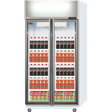GEA DISPLAY COOLER DOUBLE DOOR TYPE EXPO-600AH-CN