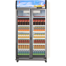 GEA DISPLAY COOLER DOUBLE DOOR TYPE EXPO-800AH-CN