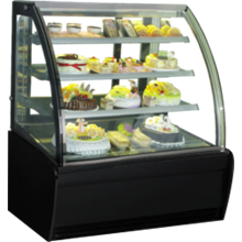 GEA CURVED GLASS CAKE SHOWCAKE DISPLAY COOLER TYPE S-940A
