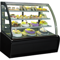 GEA CURVED GLASS CAKE SHOWCAKE DISPLAY COOLER TYPE S-950A 1