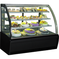 GEA CURVED GLASS CAKE SHOWCAKE DISPLAY COOLER TYPE S-960A 1