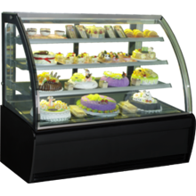 GEA CURVED GLASS CAKE SHOWCAKE DISPLAY COOLER TYPE S-960A