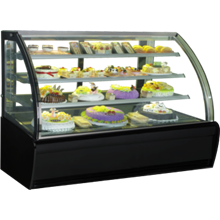 GEA CURVED GLASS CAKE SHOWCAKE DISPLAY COOLER TYPE S-980A