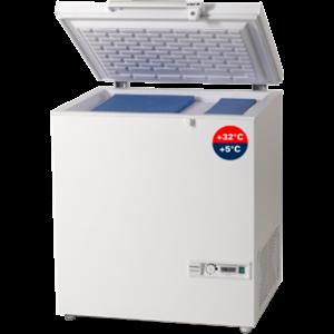 GEA VACCINE COOLER ICE LINED REFRIGERATOR - ICE PACK FREEZER TYPE MKF-074