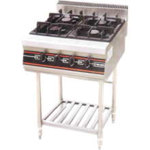 GETRA GAS OPEN BURNER WITH STAND TYPE RBD-4