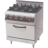 GETRA GAS OPEN BURNER TYPE RBJ-4
