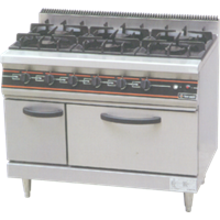 GETRA GAS OPEN BURNER TYPE RBJ-6