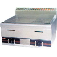 GETRA GAS HALF-GROOVED GRIDDLE TYPE HGG 752 1