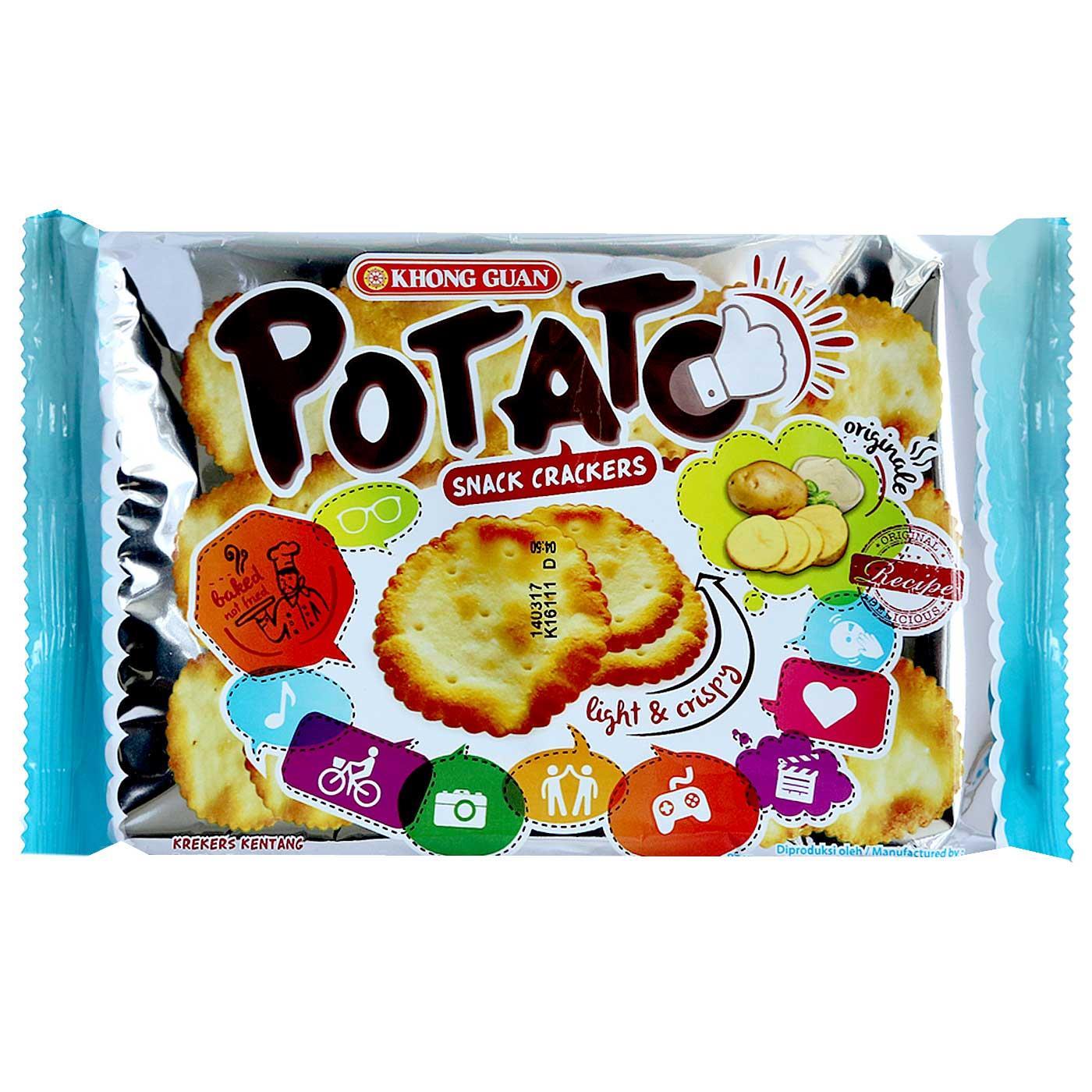 Khong Guan Cracker Malkist Kelapa 230g Daftar Harga Terkini Dan Khongguan Combo Max 175g Jual Potatos Crackers