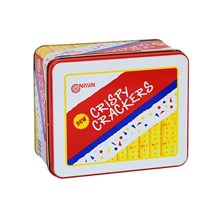 NISSIN CRISPY CRACKERS TIN