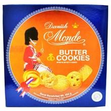 MONDE BUTTER COOKIES BLUE SHELL 150GR