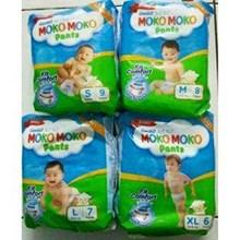 Moko Moko Pants Mini pack ukuran S x 9pack/ bungkus x 24 pax/carton