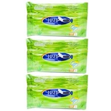 PASEO WET TISSUE PILOW BAG 10'S