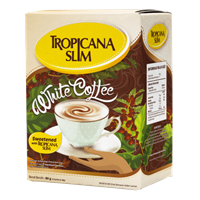 Tropicana Slim White Coffee 1
