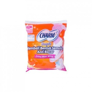 Charm Body Fit Extra Maxi Wing 2 pads