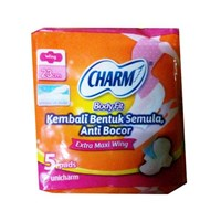 Charm Body Fit Extra Maxi Wing 5 pads  1