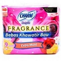 Jual Charm Body Fit Fragrance Extra Maxi Wing 9 pads