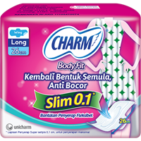 Charm Body Fit  0.1 Slim Long Wing 7P  1
