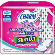 Charm Body Fit  0.1 Slim Long Wing 7P