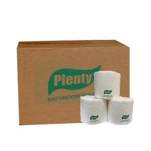 Plenty Tissue Bathroom Non Emboss Green Single Pack