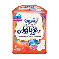 Jual Charm Extra Comfort Maxi Wing  2