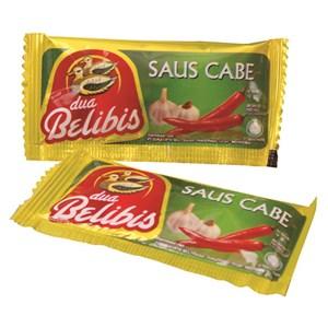 DUA BLIBIS SAOS CABE ( CHILI SAUCE)  9 gram