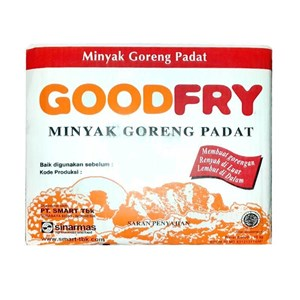 GOODFRY DEEP FRYING FAT 15 KG