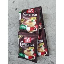 Tora bika cappucino extra choco granule renceng 25gr