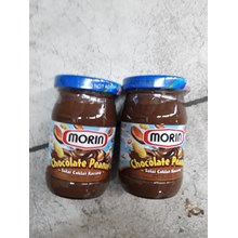 Morin jam chocolate selai botol 170 gr
