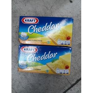 Keju Kraft Cheddar Olahan Box 175 Gr