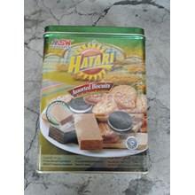 Hatari biscuit kaleng 750gr