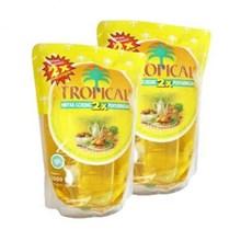 Minyak Goreng tropical refill 2 liter x 6 bungkus