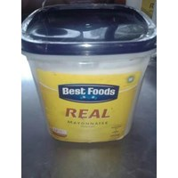Best Food Real Mayonnaise 3Liter  x 4 kaleng per carton