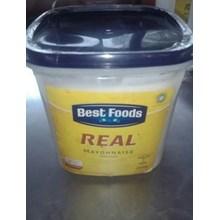 Best Food Real Mayonnaise 3Liter  x 4 kaleng per carton