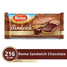 ROMA SANDWICH CHOCOLATE 216 GRAM
