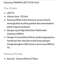 Sell TV LED  SAMSUNG  2