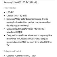 Distributor TV LED  SAMSUNG TYPE 32N4003 3