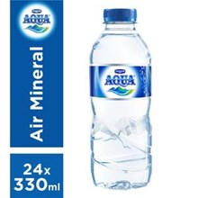 Aqua Mineral 330 ml x 24 botol