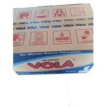 viola minuman gelas 220 ml x 48 cup/dus