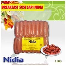Sosis Breakfast Sapi Nadia 1 kg