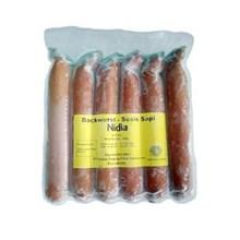 Nidia Sosis bookwurst bakar 500 gr 6 pcsx 20 pack/carton