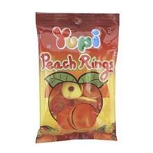 Yupi Peach Ring Mini Bag 12x6x45gr