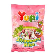 Yupi Strawberry Kiss Hanging Bag 24x110gr