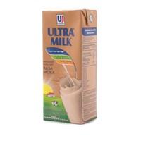 Jual Ultra Jaya Ultra Milk Strawberry Minuman Susu [200mL/ 24 pcs]